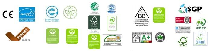 HP Latex printer certifications